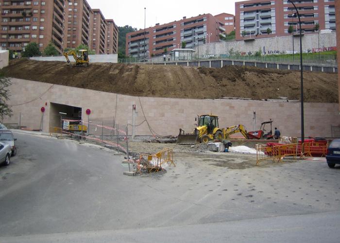 parking ciudad jardín