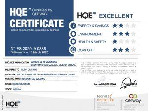 HQE certificado