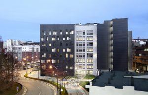 Viuda de Sainz Viviendas dotacionales Amezola. Ayuntamiento de Bilbao